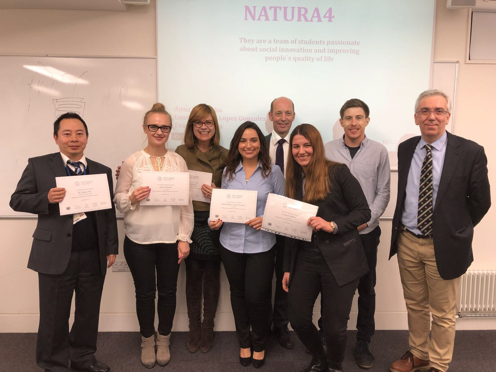 In-Campus winning team to attend regional finals in London for Hult Prize 2018