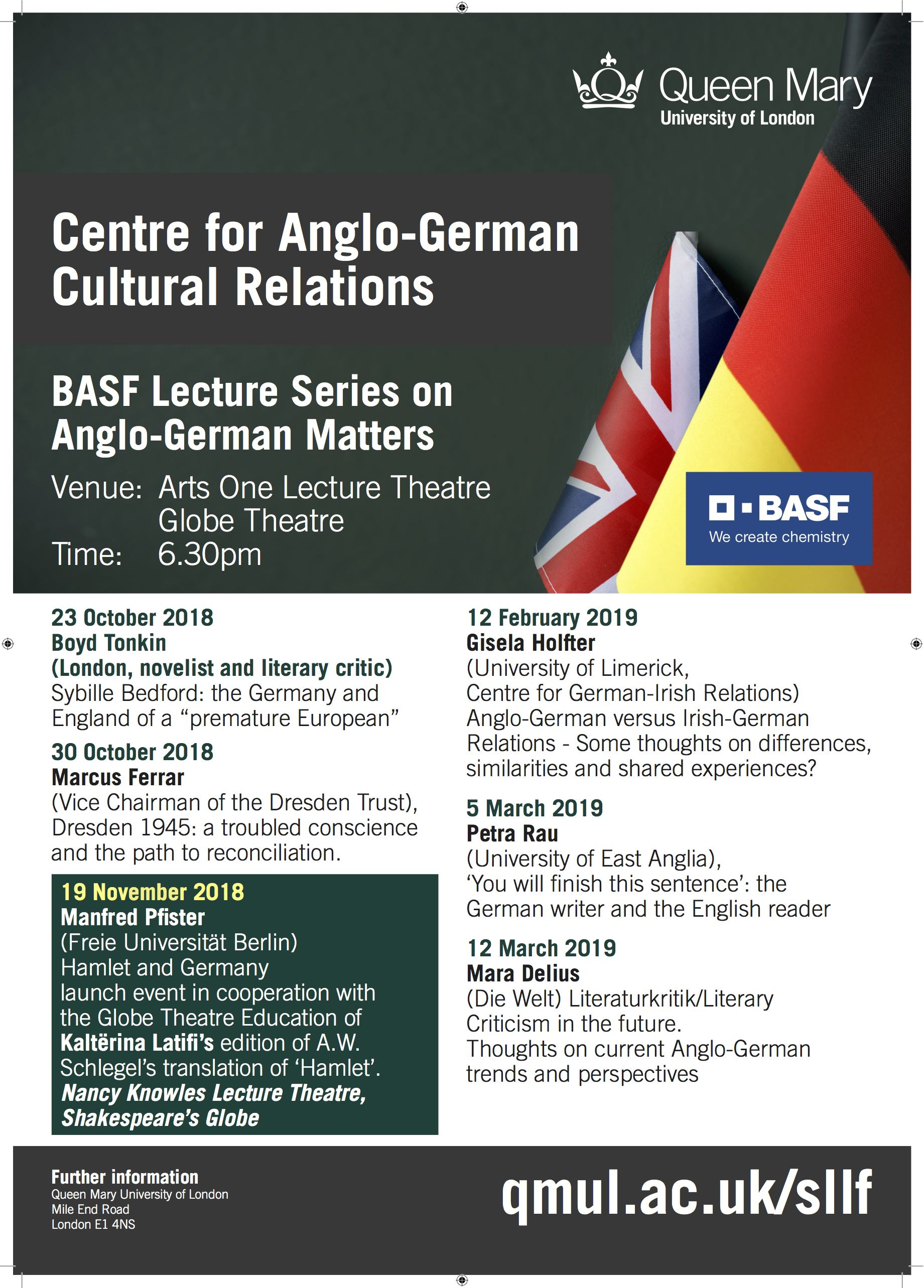 BASF Lecture Series 2018-19