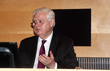 The Rt Hon Lord Lamont of Lerwick delivering the 3rd Annual Lecture, 2 February 2017