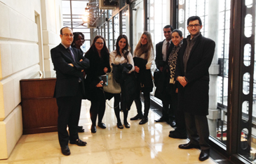 LLM in Insurance Law students visit to Lloyds Insurance Market