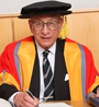 Lord Peter Millett being awarded Queen Mary Honorary Fellowship