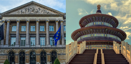 Brussels and Beijing