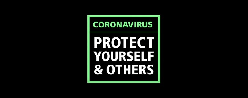 background image for coronavirus advice