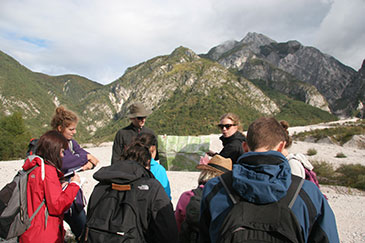 Queen Mary University of London postgraduate students travel to Italy on fieldwork as part of their masters studies
