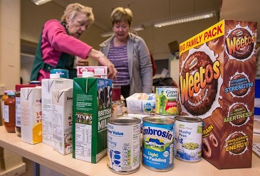 Foodbanks rely on the generosity of donors and volunteers © Getty Images