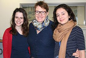 Eleanor Schreiber, Kate Amis, Ginny Benardout