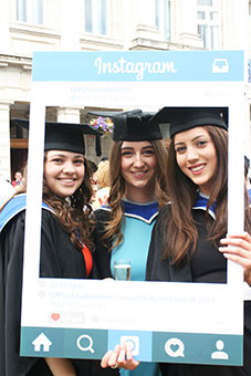 QMUL Geographers Imogen Nayager-Stafford, Alice Howarth and Zinnia Pourdad