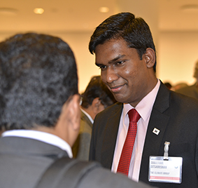 Graduate Subaskar Sitsabeshan from Sri Lanka studied BSc Environmental Science 2011 and now works in London as a Programme Analyst for The Climate Group.
