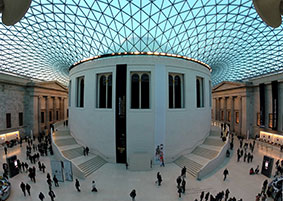 The British Museum in Holborn.