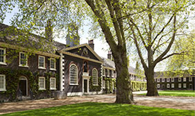 The Geffrye Museum of the Home in Shoreditch.