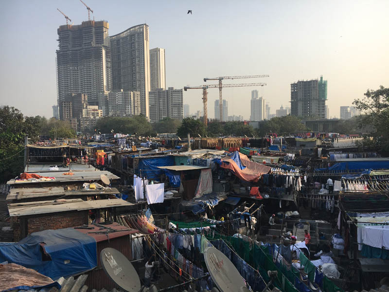 Mumbai's dhobi ghat, December 2018. Photo credit: Marcia Vera-Espinoza