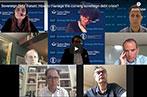 Sovereign Debt Forum video panel screenshot