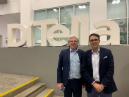 Professor Eduardo Stordeur (UTDT) and Professor Rodrigo Olivares-Caminal (Queen Mary) at UTDT in Buenos Aires