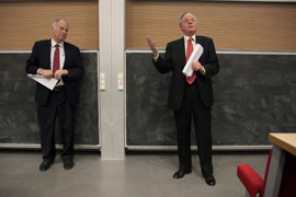 Lord Neuberger and Sir Ross Cranston