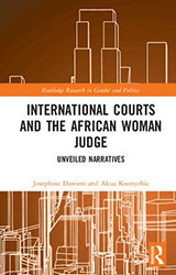 International Courts and the African Woman Judge cover