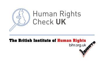 BIHR and Human Rights Check UK logos