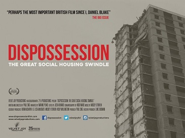 Poster for Dispossession: The Great Social Housing Swindle