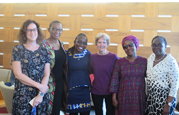 Participants at the International Courts and the African Woman Judge: Unveiled Narratives Book Launch