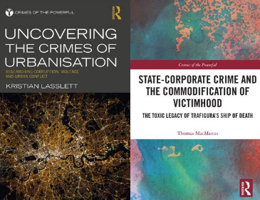 Routledge Crimes of the Powerful Double book covers