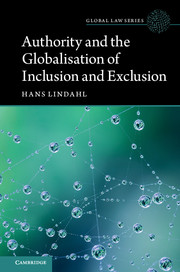 Authority and the Globalisation of Inclusion and Exclusion book cover