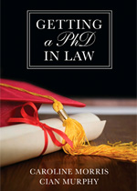 Getting a PhD in Law book cover