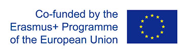 Logo stating this event is Co-funded by the Erasmus+ Programme of the European Union