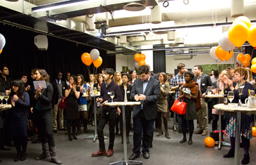 qLegal launch party at Google Campus, 22 January 2014