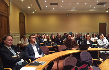 Attendees of the Sorbonne-QMUL Opening Lecture