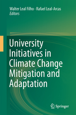 University Initiatives in Climate Change Mitigation and Adaptation cover