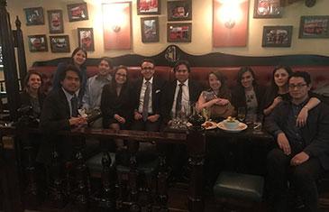Alumni reunion in Bogota, Colombia