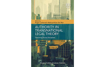 'Authority in Transnational Legal Theory: Theorising Across Disciplines'