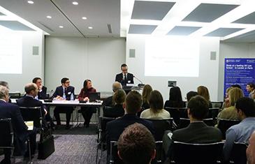Christophe von Krause, White and Case LLP, Antonio Musella, Castaldi Mourre and Partners, Dr Maxi Scherer, QMUL