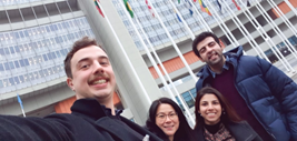 Immigration Law LLM students at the United Nations