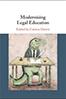 Modernising Legal Education cover