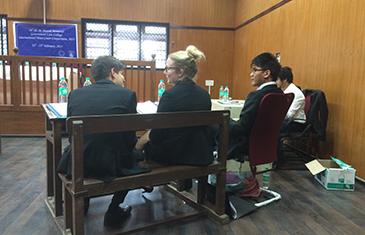 QMUL team at DM Harish Moot 2015