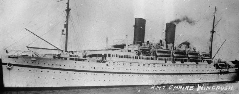 The Windrush ship