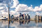 Skyline of Toronto from Lake Ontario