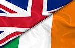 UK and Irish flags