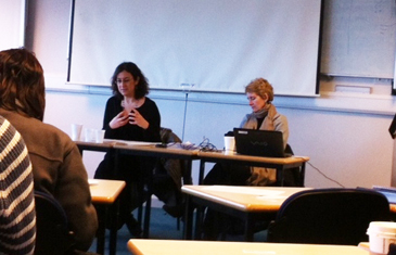 Professors Barmes and Malleson 'Positive action in job selection seminar'
