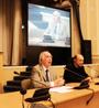 Professor Roger Cotterrell at the St Petersburg State University conference on Polish-Russian jurist Leon Petrazycki