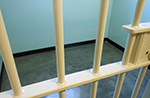 Bars of a prison