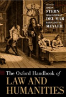 The Oxford Handbook of Law and Humanities book cover