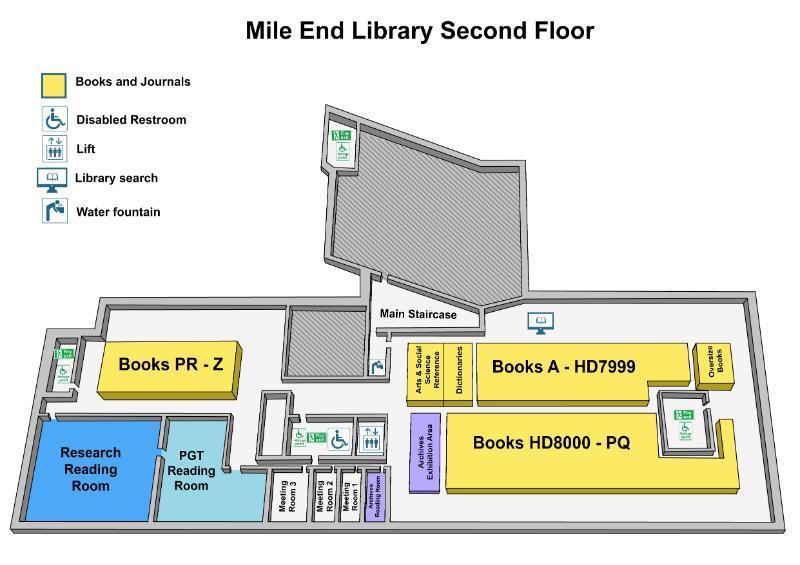 Mile End Library U2013 Floor Plans