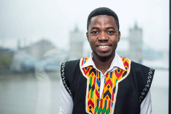 Michael Mensah, MSc Integrated Management of Freshwater Environments (IMFE), Commonwealth Scholar, 2019