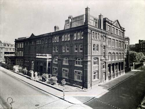 The London Hospital Medical College, circa 1950s