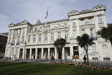Image of the Queens' Building at Queen Mary University of London