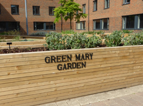 an image of the green mary gardens