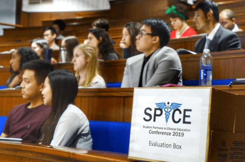 Lecture theatre holding the SPiCE conference