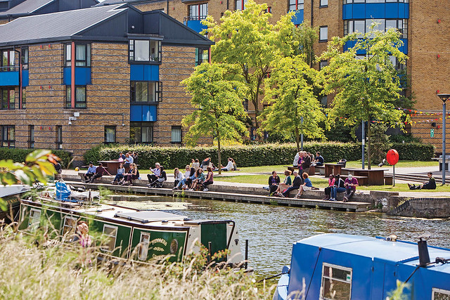 Mile End Canal