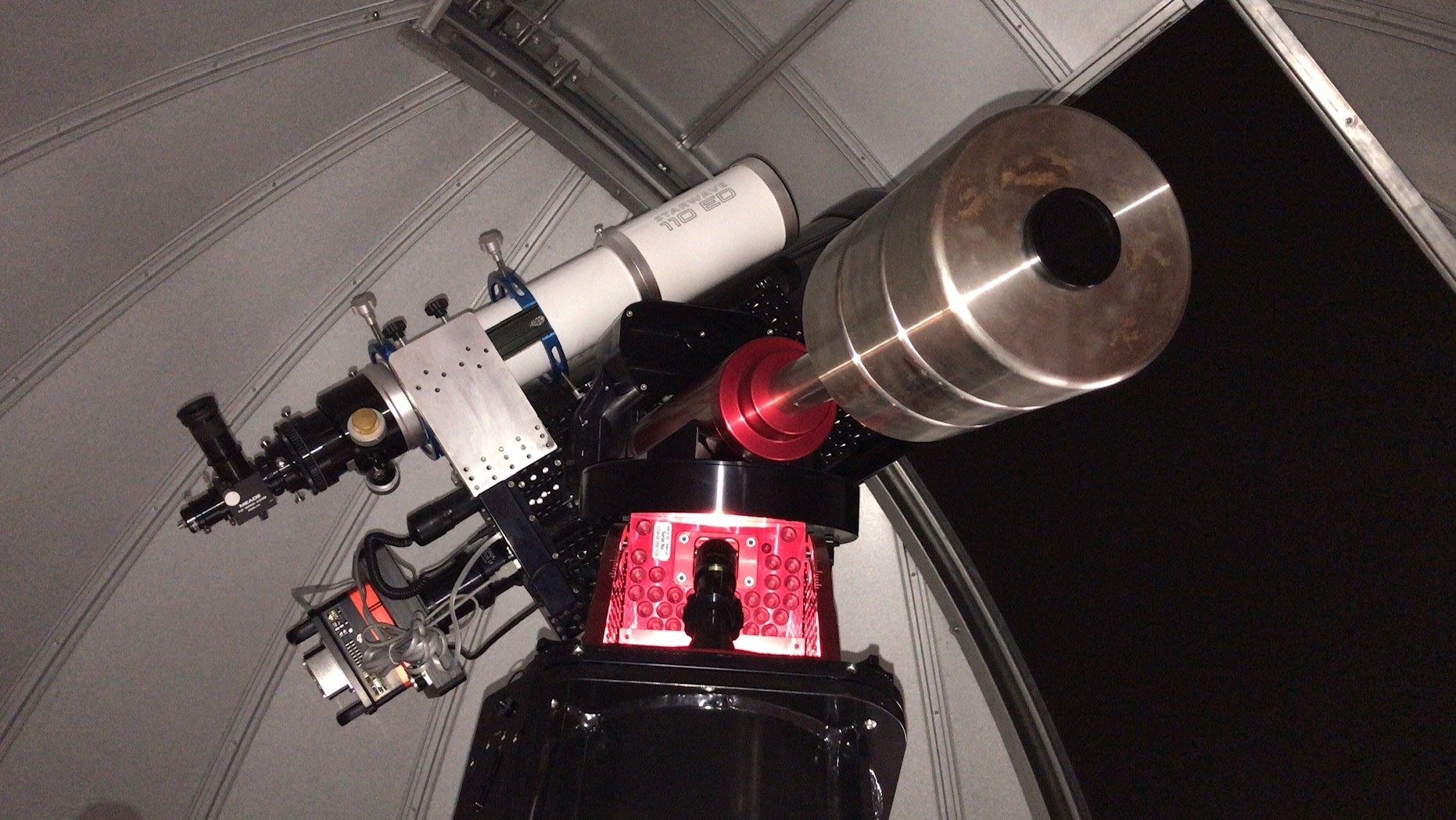 Telescope in Queen Mary's observatory